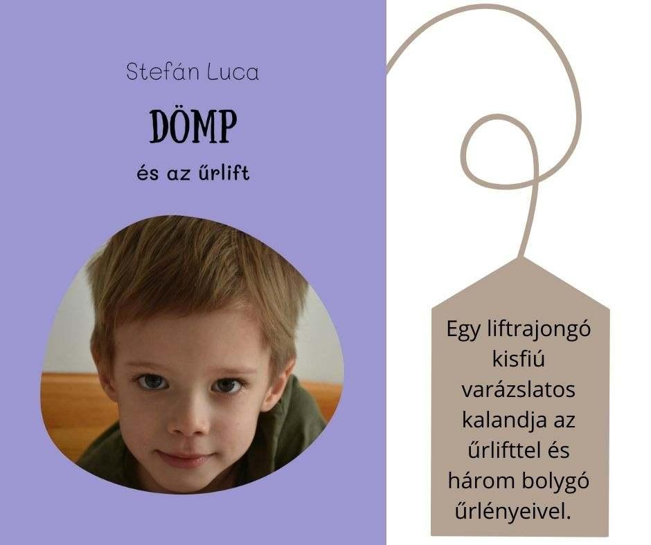 #FOTÓS mesekönyv - Dömp és az űrlif