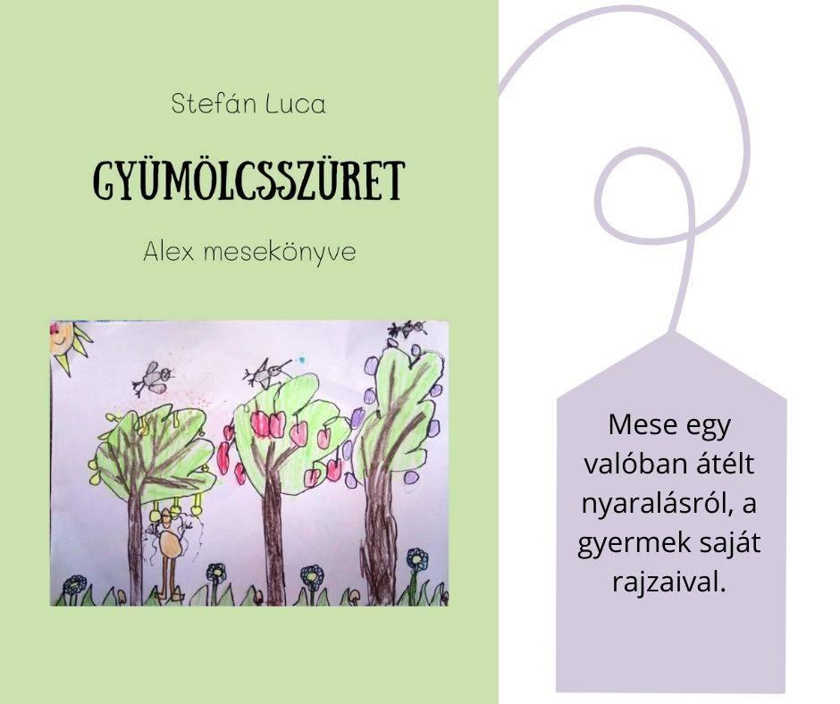 #FOTÓS mesekönyv - Gyümölcsszüret