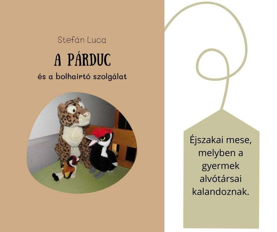 #FOTÓS mesekönyv - A párduc és a bolhairtó szolgálat